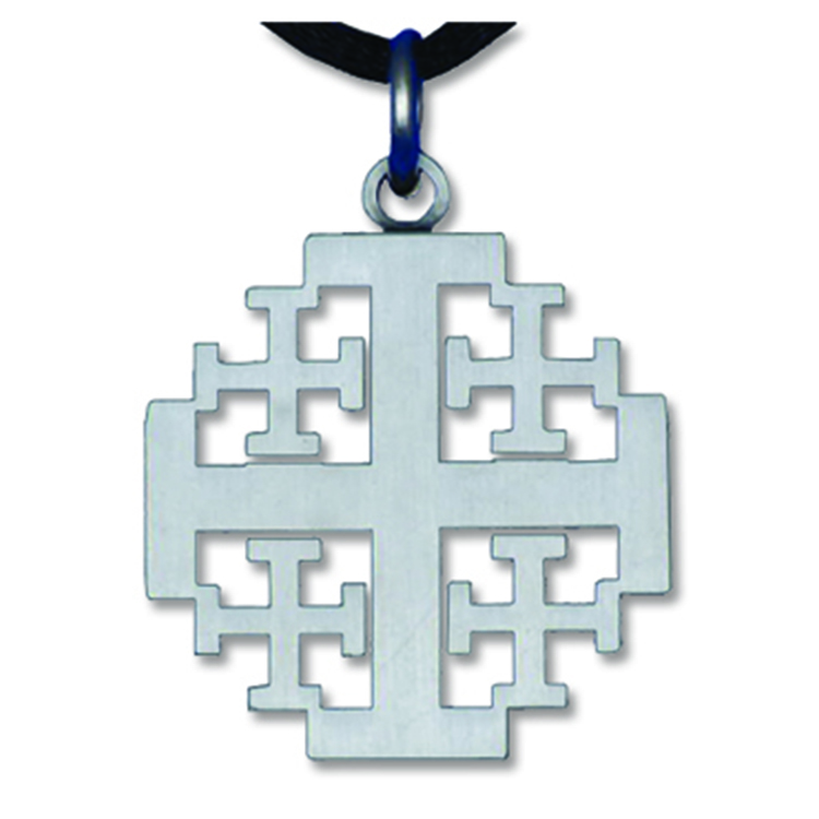 Church clerical ministry pendantspins jerusalem crosspewter jerusalem crosspewter aloadofball Images
