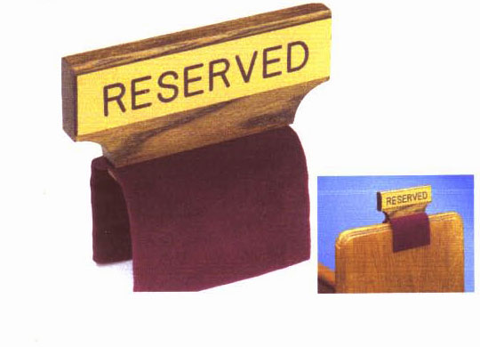 Church Amp Clerical Church Appointments Reserve Signs
